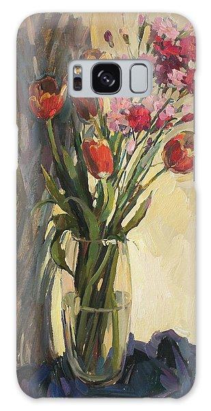 Spring Bouquet Galaxy Case