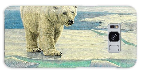 Polar Bear Galaxy S8 Case - Spring Break by Paul Krapf