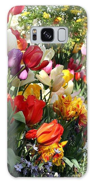 Spring Bulb Bonanza Galaxy Case by Mary Lou Chmura