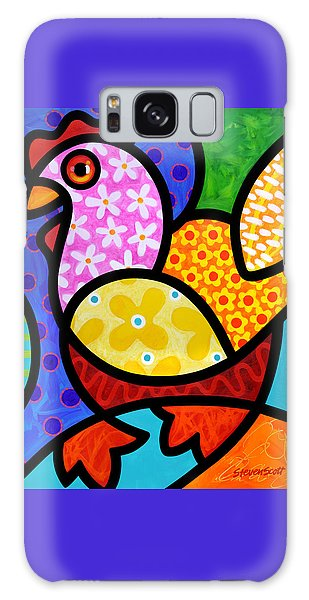 Spring Chicken Galaxy Case