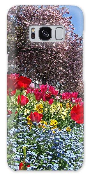 Spring Flowers - Edinburgh Galaxy Case