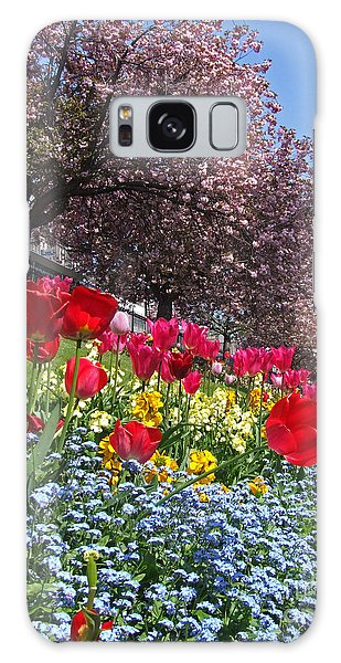 Spring Colours - Edinburgh Galaxy Case