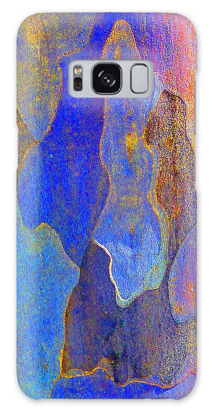 Spring Eucalypt Abstract 10 Galaxy Case by Margaret Saheed