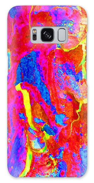 Spring Eucalypt Abstract 14 Galaxy Case by Margaret Saheed