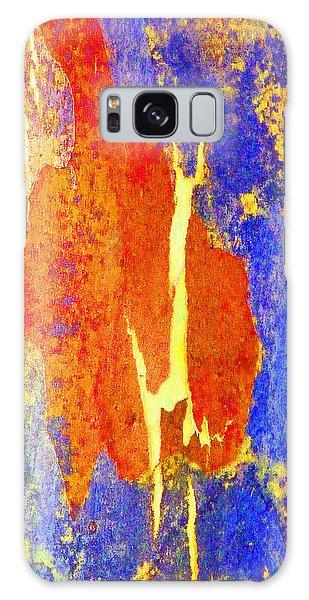 Spring Eucalypt Abstract 5 Galaxy Case by Margaret Saheed