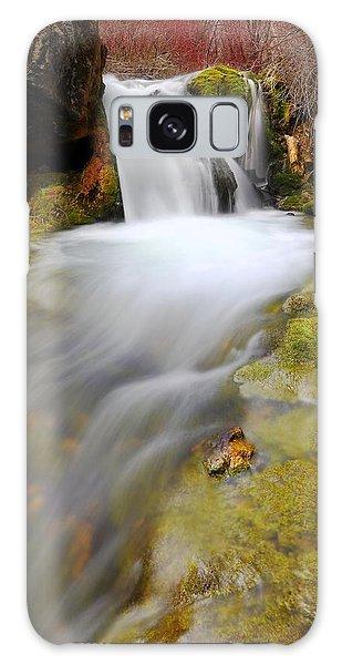 Spring Falls Galaxy Case