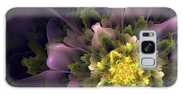 Spring Floral Galaxy Case by Linda Whiteside