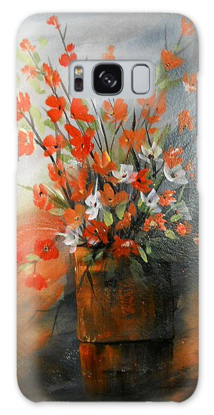 Spring Flower Bouquet Galaxy Case by Dorothy Maier