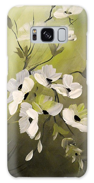 Spring Flowers Galaxy Case by Dorothy Maier