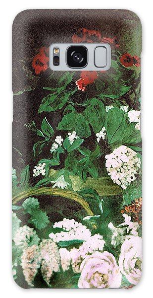 Spring Flowers Study Of Monet Galaxy Case by Seth Weaver