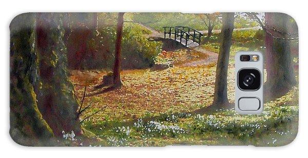 Spring Glow At  Kailzie Gardens Peebles Galaxy Case