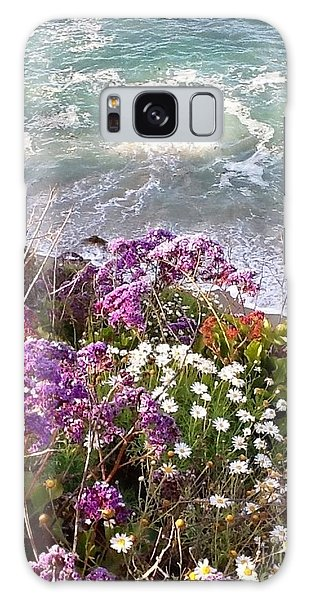 Spring Greets Waves Galaxy Case by Susan Garren