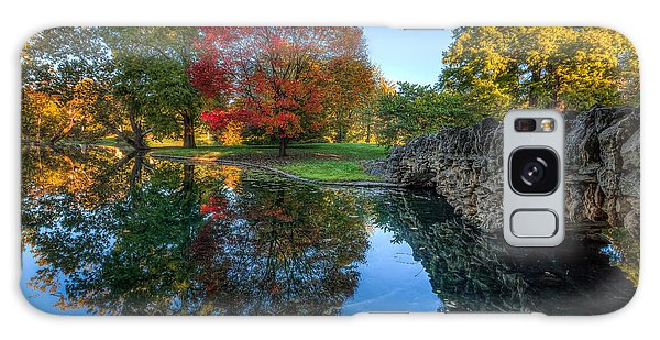 Spring Grove In The Fall Galaxy Case