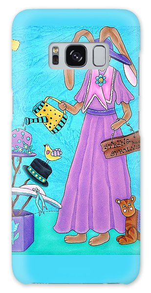Spring Has Sprung Galaxy Case by Tracy Campbell