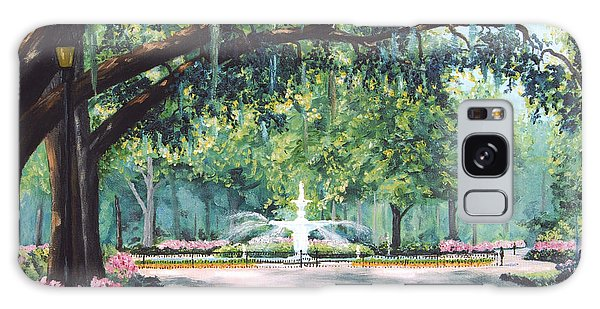Spring In Forsythe Park Galaxy Case