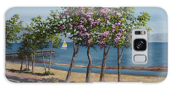 Spring In Kings Beach Lake Tahoe Galaxy Case by Darice Machel McGuire