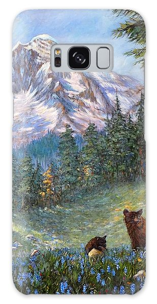 Spring In The Cascades Galaxy Case by Charles Munn