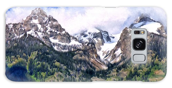 Spring In The Grand Tetons Galaxy Case by Michael Pickett