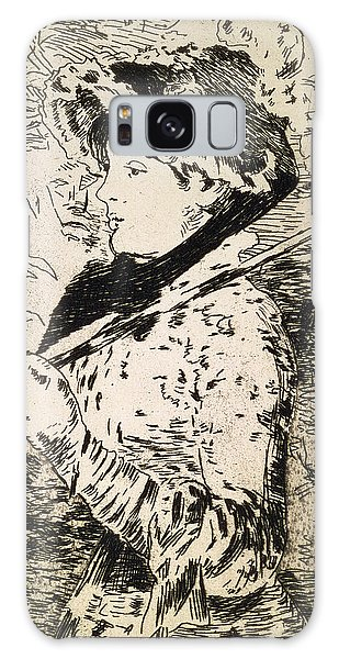 Female Galaxy Case - Spring   Jeanne by Edouard Manet