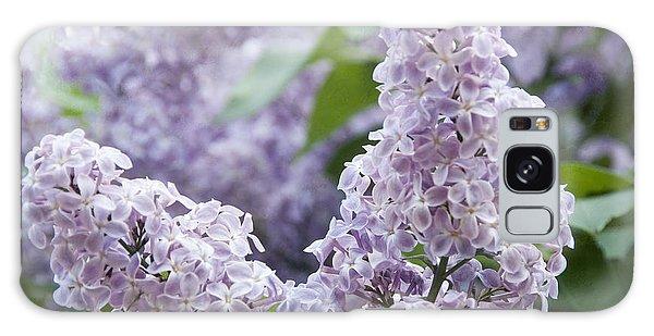 Spring Lilacs In Bloom Galaxy Case