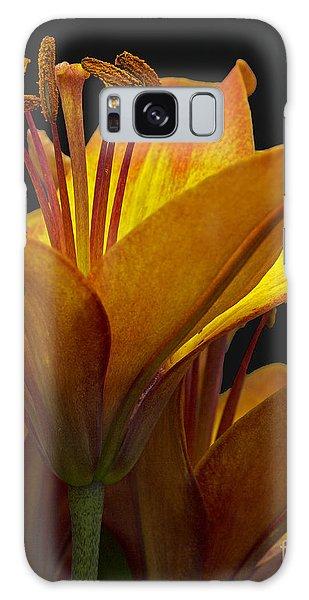 Spring Lily Galaxy Case