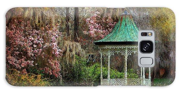 Spring Magnolia Garden At Magnolia Plantation Galaxy Case by Kathy Baccari