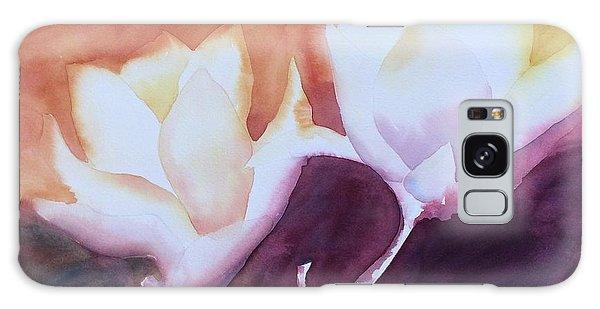 Spring Magnolias Galaxy Case by Barbara Tibbets