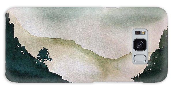 Spring Mist Galaxy Case by Barbara Tibbets