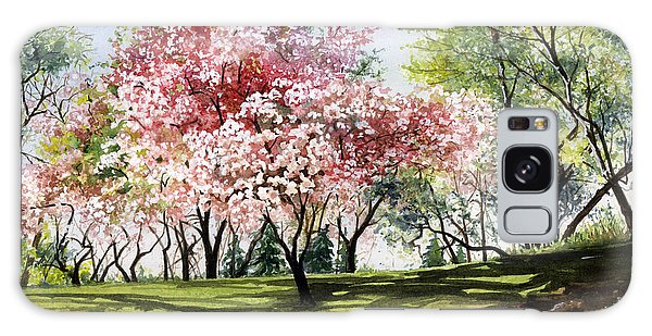 Spring Morning Galaxy Case by Barbara Jewell