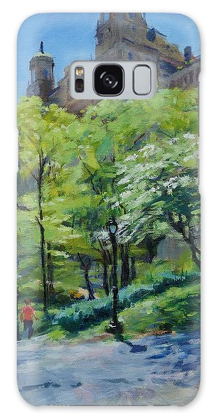 Spring Morning In Central Park Galaxy Case