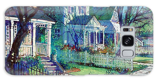 Spring Morning On East Street Galaxy Case