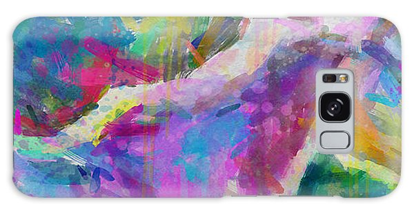 Spring Rain Galaxy Case by Greg Collins
