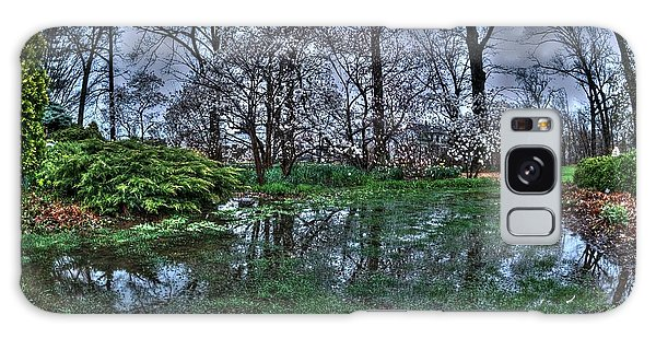 Spring Rains In The Garden Galaxy Case by Kimberleigh Ladd
