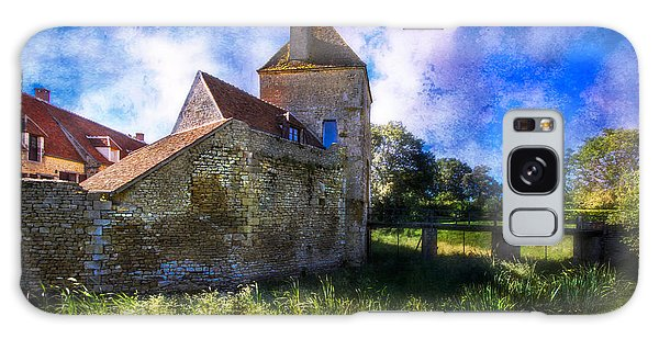 Spring Romance In The French Countryside Galaxy Case by Debra and Dave Vanderlaan