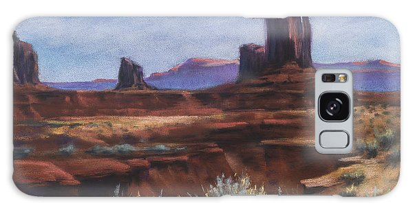 Spring Sage Monument Valley Az Galaxy Case