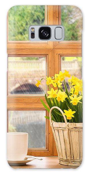 Window Galaxy Case - Spring Showers by Amanda Elwell
