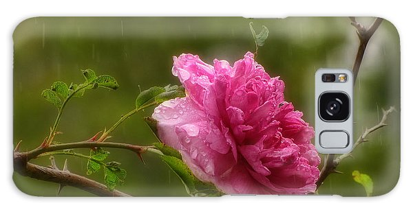 Spring Showers Galaxy Case by Peggy Hughes