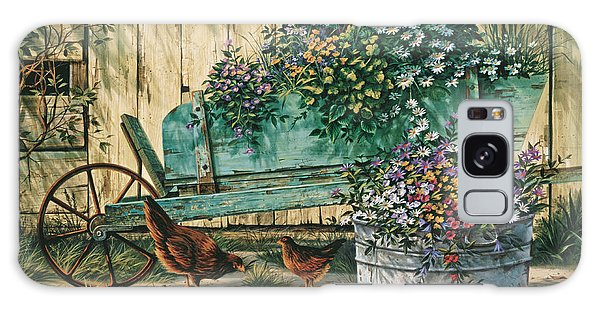 Chicken Galaxy Case - Spring Social by Michael Humphries
