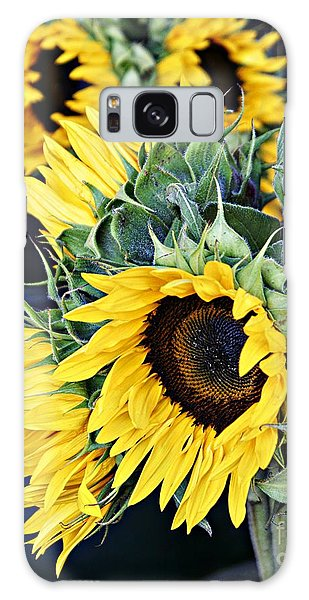 Spring Sunflowers Galaxy Case