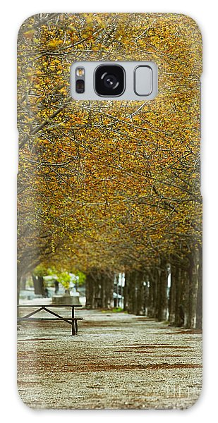 Galaxy Case featuring the photograph Spring Trees Blossoming In Montreal by Sandra Cunningham