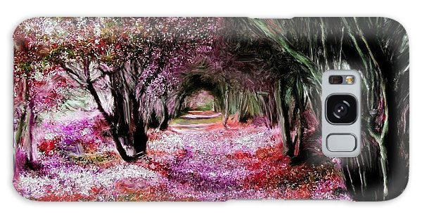 Spring Walk In The Park Galaxy Case by Bruce Nutting