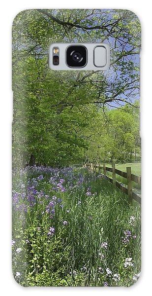 Spring Wildflowers Galaxy Case