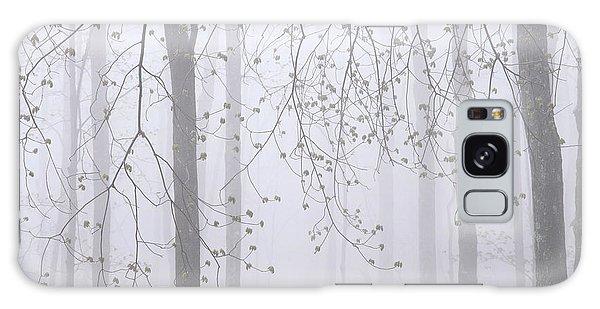 Spring Woodland Fog 2 Galaxy Case by Alan L Graham