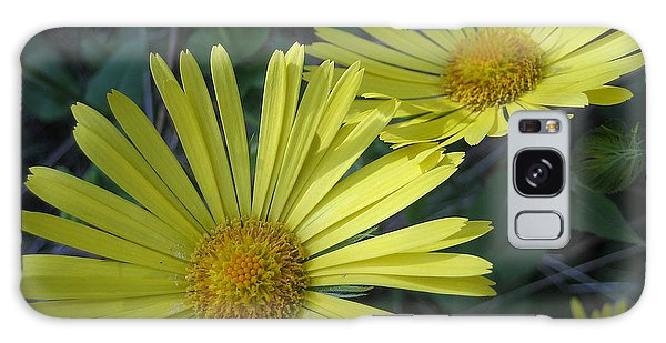 Spring Yellow  Galaxy Case