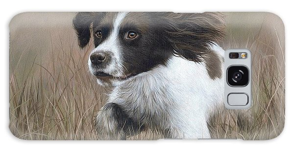 Springer Spaniel Painting Galaxy Case