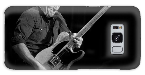 Springsteen Shreds Bw Galaxy Case by Jeff Ross