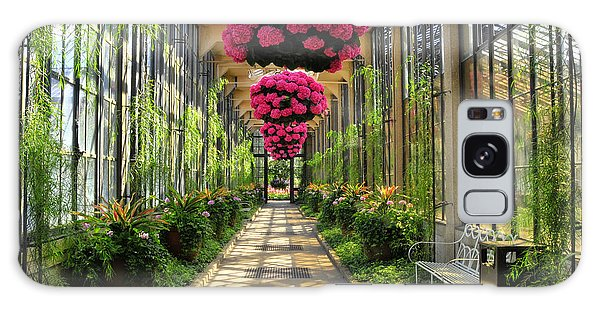 Springtime At Longwood Gardens 2 Galaxy Case by Dan Myers