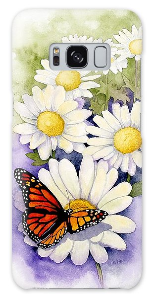 Springtime Daisies  Galaxy Case