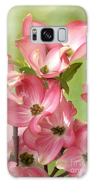 Springtime Dance Galaxy Case by Beve Brown-Clark Photography