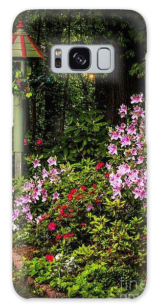 Springtime In The Garden  Galaxy Case